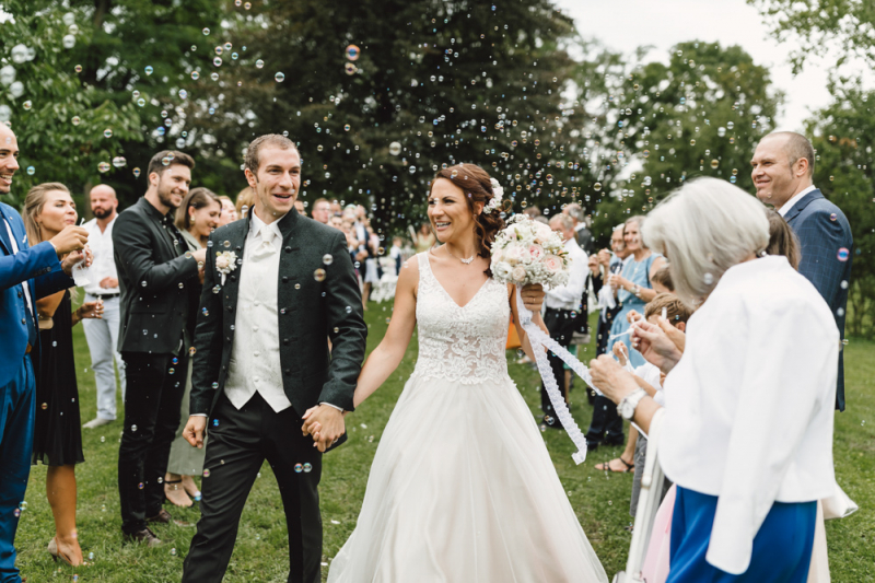 Hochzeitsfotografie von Sandra & Michael - Schmiede Ravelsbach
