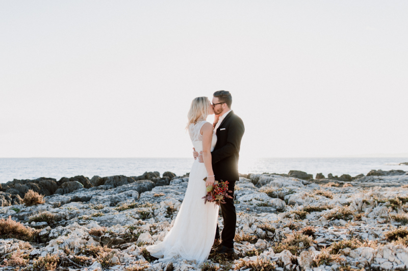 Hochzeitsfotografie von Nadja & Christian - Istrien
